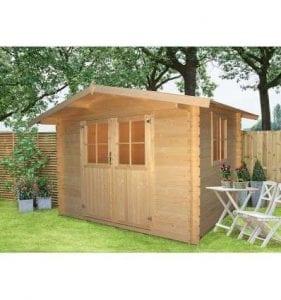 casetas de jardin baratas de madera