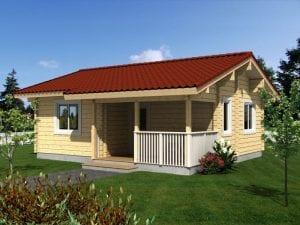 casetas de madera 40m2
