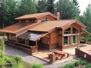 casetas de madera grandes