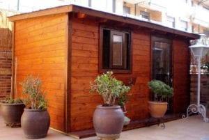casetas de madera para terraza