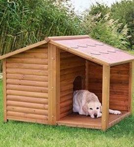 Casetas para Perros Grandes de Madera