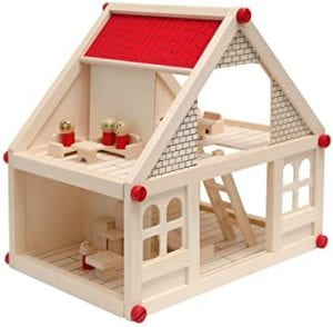 casitas de madera juguete