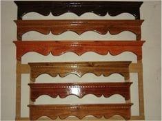 cenefas de madera para paredes
