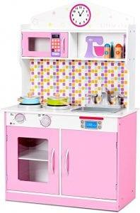 cocinas de madera para niñas