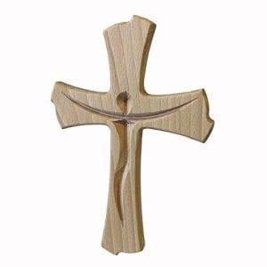 cruces pequeñas de madera