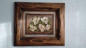 cuadros con marco de madera