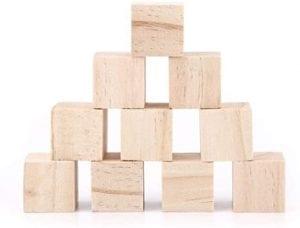 cubitos de madera