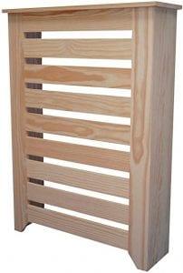 cubreradiador de madera