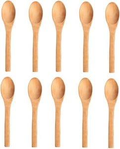 cucharas de madera pequeñas