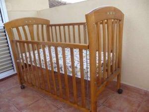 cunas bebe de madera