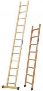 escaleras de madera de mano