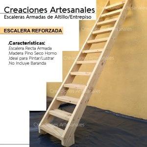 Escaleras de Madera para Altillos