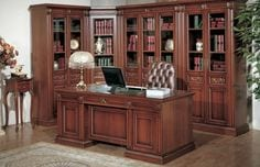escritorios de madera clasicos