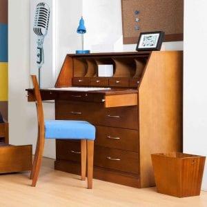 escritorios de madera para niños