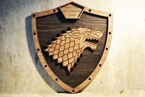 escudos de madera