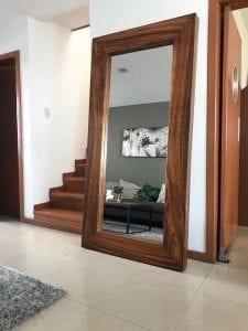 espejos de madera