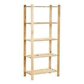 estanterias baratas de madera