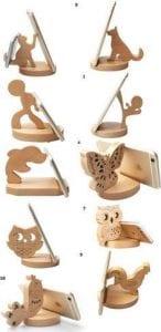 figuritas de madera para manualidades