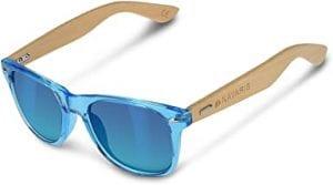 gafas de sol de madera hombre