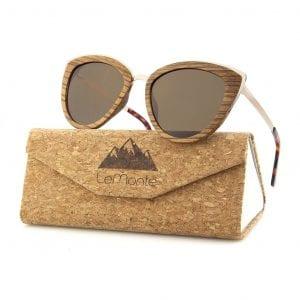 gafas de sol de madera mujer
