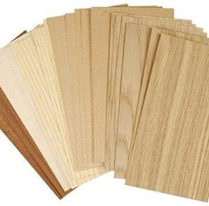 hojas de madera