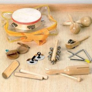 instrumentos de percusión de madera
