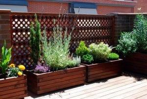 jardineras grandes de madera