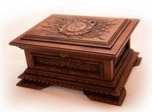 joyeros de madera artesanales