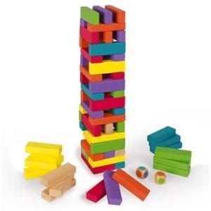 juegos con piezas de madera