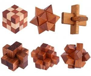 juegos de ingenio de madera