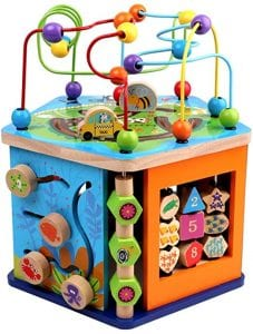 juguetes para bebes de madera