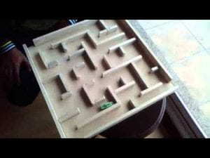 laberintos de madera
