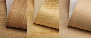 láminas de madera finas