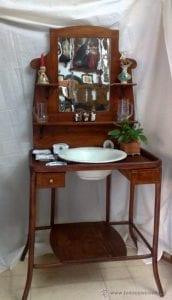 lavabos de madera antiguos
