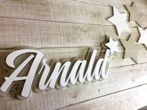letras de madera para decorar habitaciones