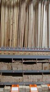 listones de madera bricomart
