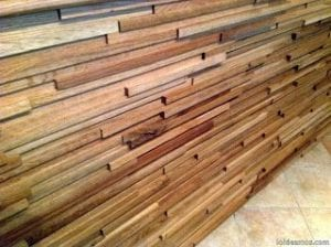 listones de madera para pared