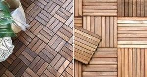 losetas de madera