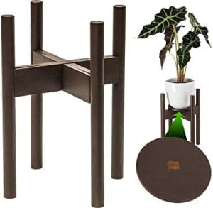 macetas de madera para interior