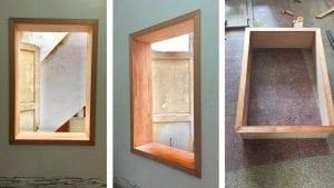 marcos de madera ventanas
