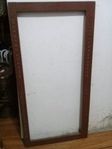 marcos para espejos de madera