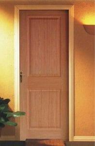 marcos y puertas de madera