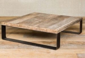 mesas bajas de madera