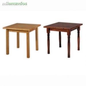 mesas baratas de madera