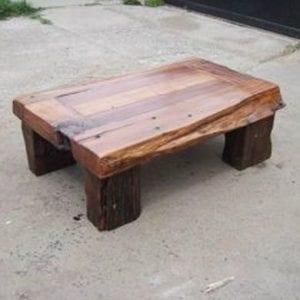 mesas de centro rusticas de madera