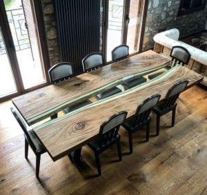 mesas de comedor de madera y…
