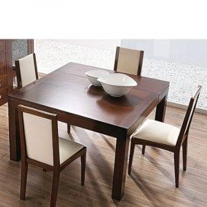 mesas de comedor extensibles de madera