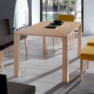 mesas de comedor modernas de madera