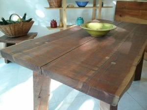mesas de madera de diseño
