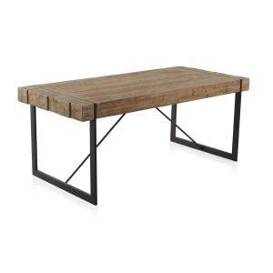 mesas de madera industriales
